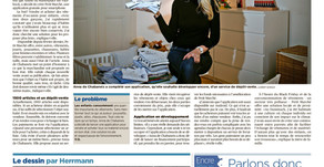 Petit Marché in Tribune de Geneve