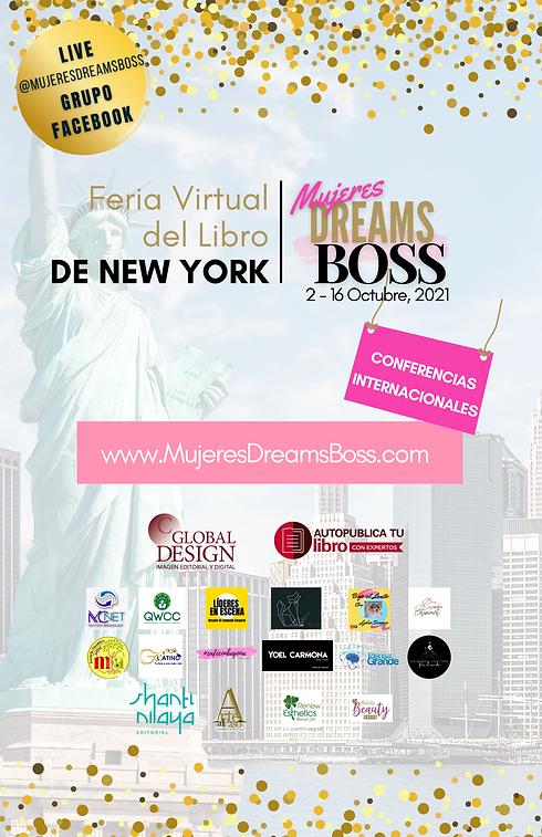 Feria Virtual del Libro de New York Mujeres Dreams Boss (6).png