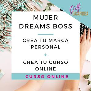 crea tu marca personal y tu curso online