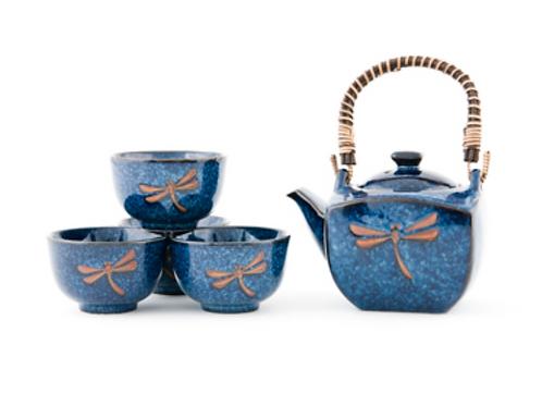 Japanese Dragonfly Tea Set