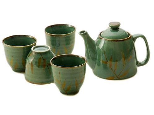 Sage Tea Set