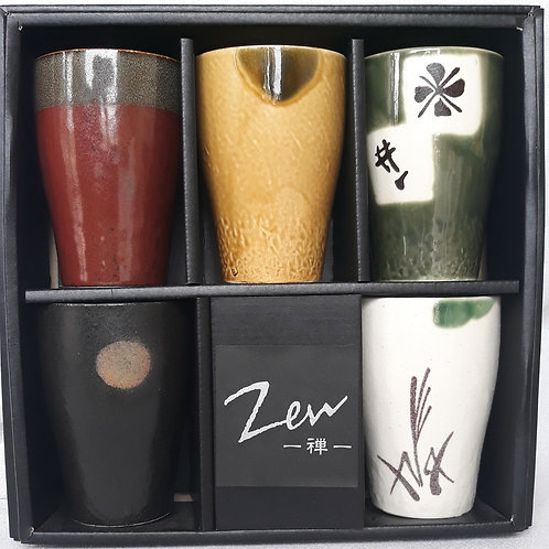 Zen Tall Tea Cups