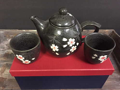 3 Piece Tea Set w/ steeping basket