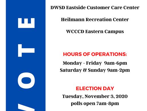 Don't Wait Vote TODAY!