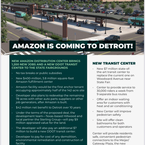 Amazon is coming to the D! Jobs.