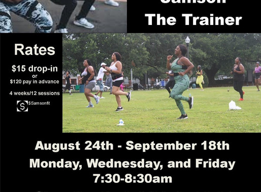 Chandler Park Boot Camp