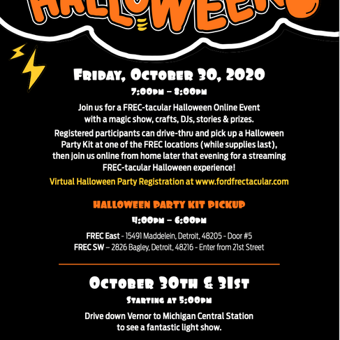 FREC Halloween Events