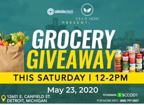 Grocery Giveaway, Sat. May 23