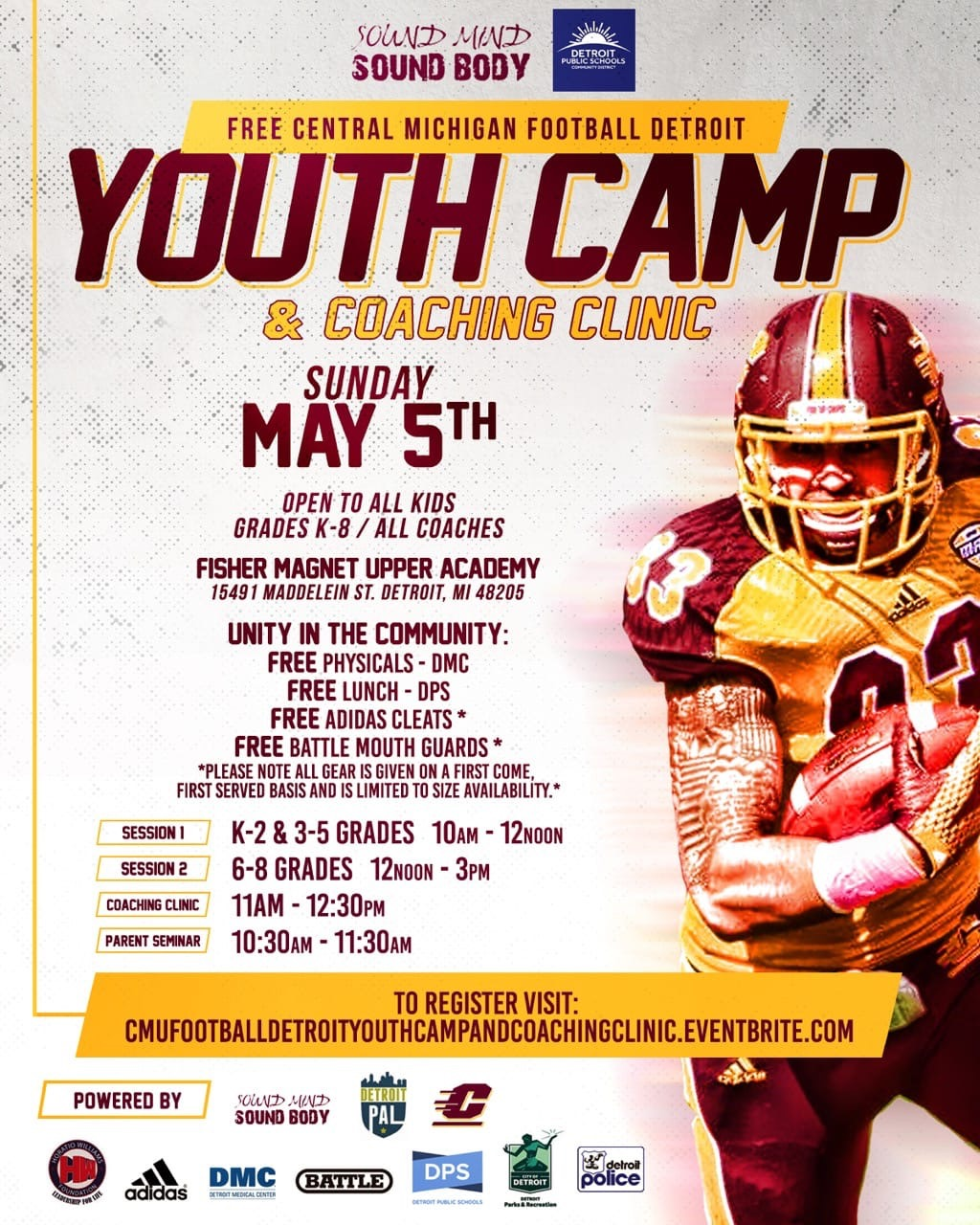 Youth Football Camp | d4website2019