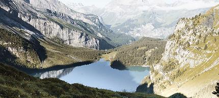 Campingplats i bergen