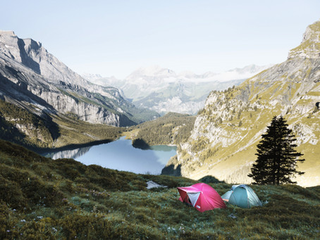 Picture perfect campsites