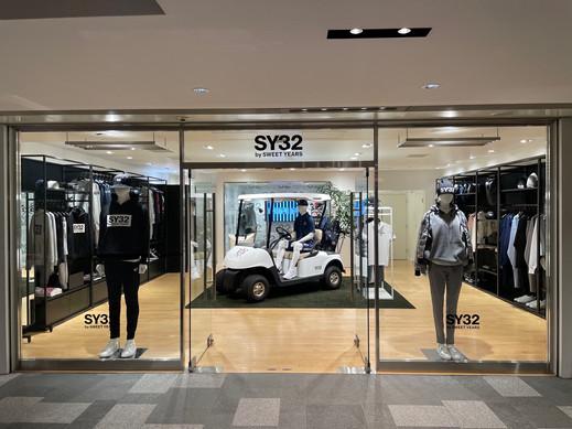 Apertura del nuovo Store SY32 dedicato al golf in Giappone