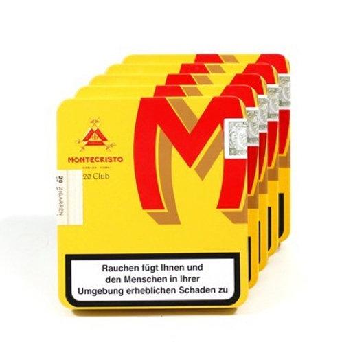 MONTECRISTO CLUB TIN (20 / Pack) x 5s