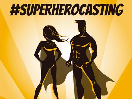 #SuperheroCasting