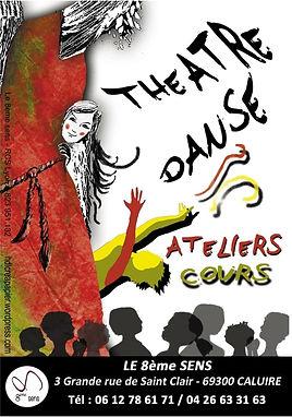 Cours théâtre danse Caluire