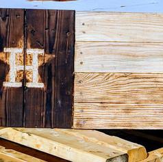 Houstin Astros Texas Flag