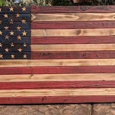 Battle Torn Flag .45ACP