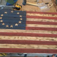 Battle Torn Flag