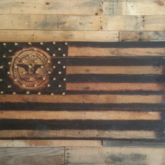 C.I.A. .45 ACP Pallet Flag