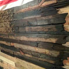 Battle Torn Pallet Flag