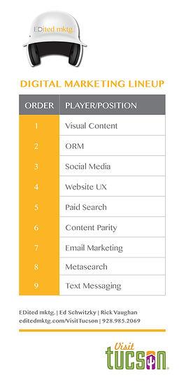 brochure digital marketing lineup visit tucso