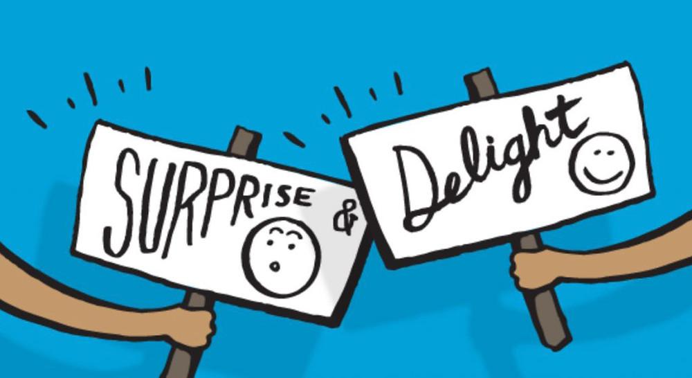 surprise delight