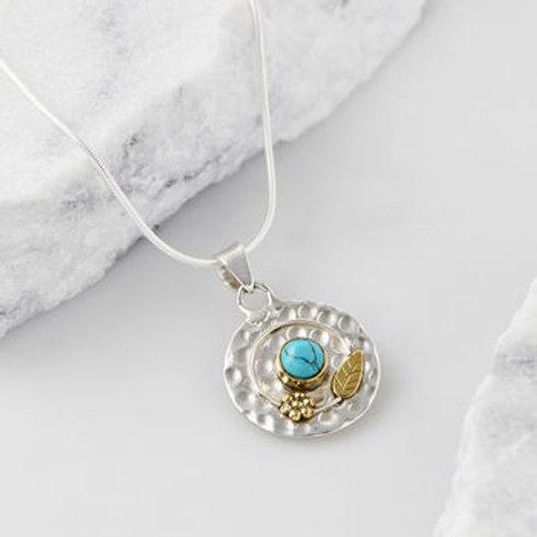 Charlotte's Web Secret Garden Gemstone Necklace