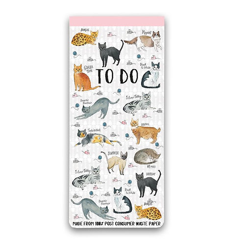 Milly Green Curious Cat Eco To Do List
