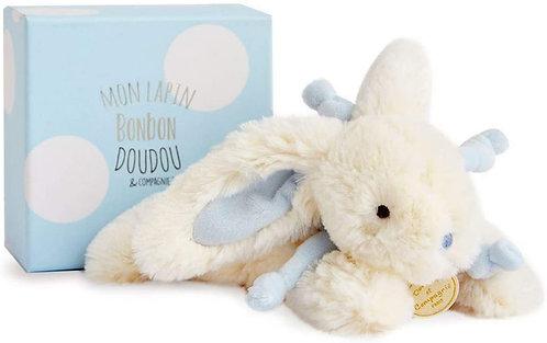 DouDou Boxed Bunny Blue 25cm