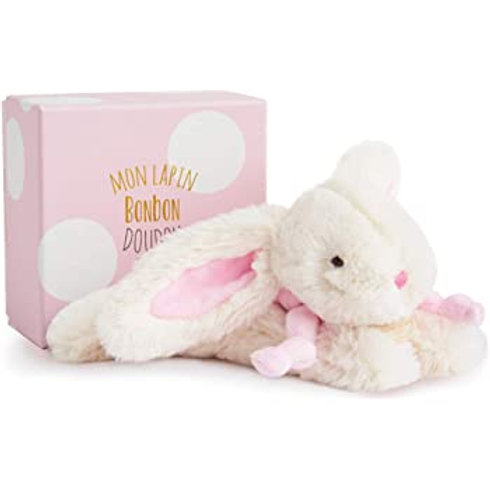 DouDou Boxed Bunny Pink 16cm