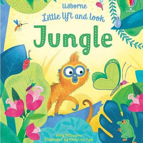 Little Lift And Look Book: Jungle