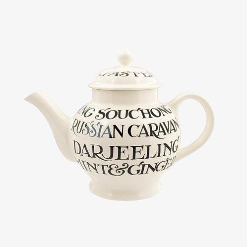 Emma Bridgewater Black Toast Teapot