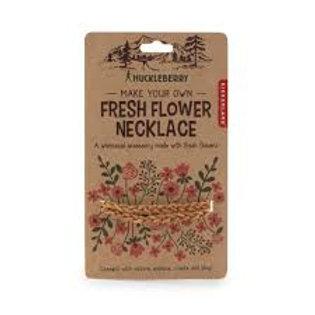 Huckleberry Flower Necklace