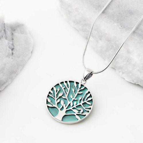 Charlotte's Web Tree Of Life Necklace
