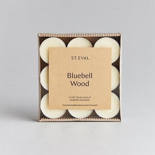 St Eval Bluebell Wood Tealights