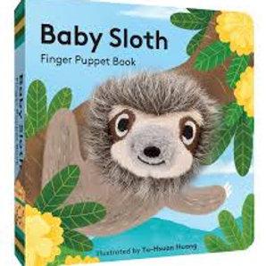 Baby Sloth Finger Pocket Book