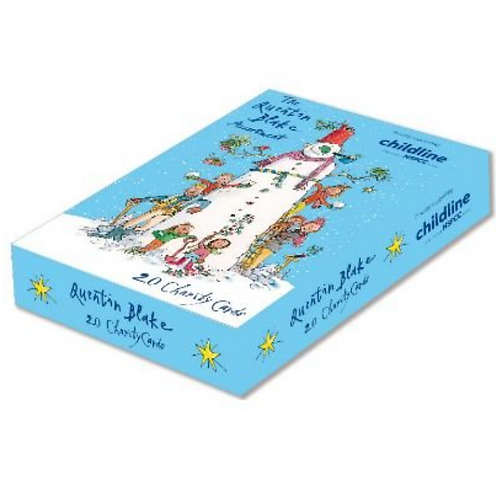 Quentin Blake Christmas Cards Box of 20