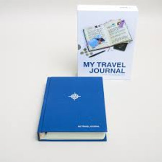 My Travel Journal Blue