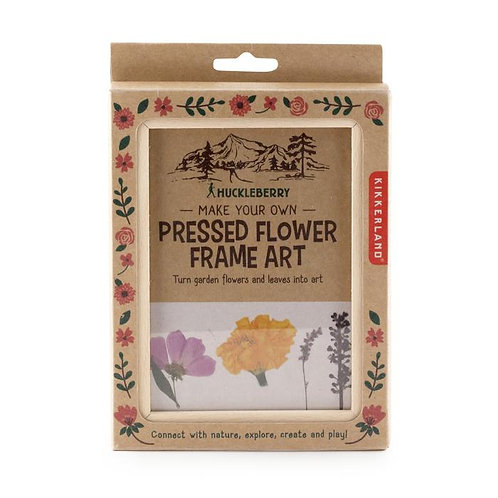 Huckleberry Pressed Flower Frame