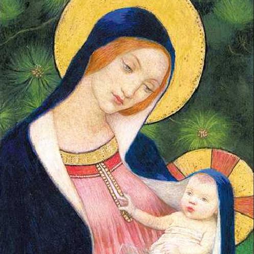 Madonna and Child Christmas Card Box of 8
