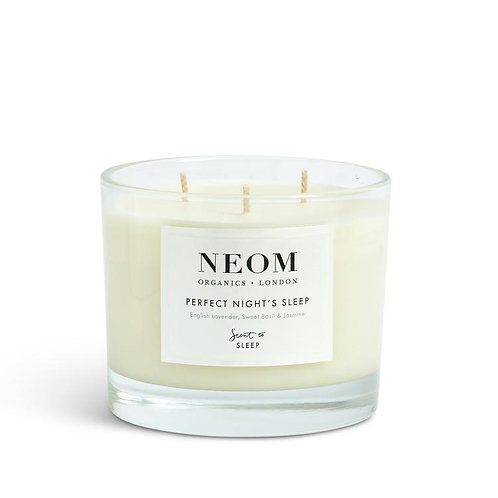 NEOM Tranquillity Perfect Nights Sleep Candle 3 Wick 420g