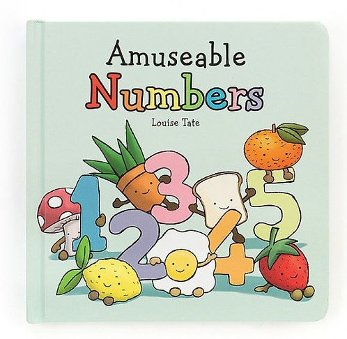 Jellycat Amuseable Numbers Books