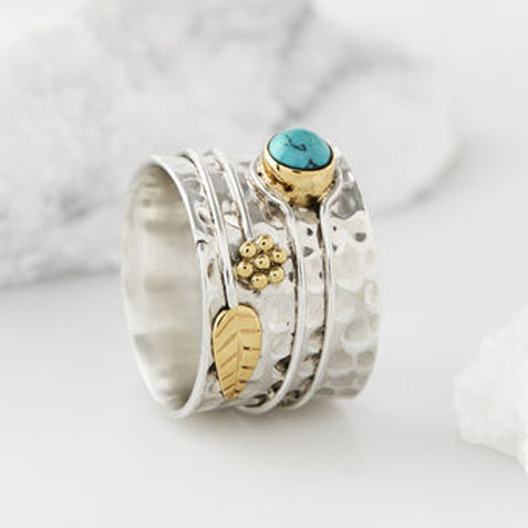 Charlotte's Web Turquoise Secret Garden Ring
