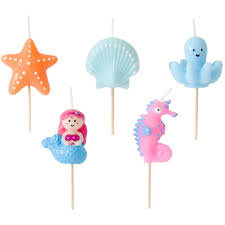 Under The Sea Cake Candles