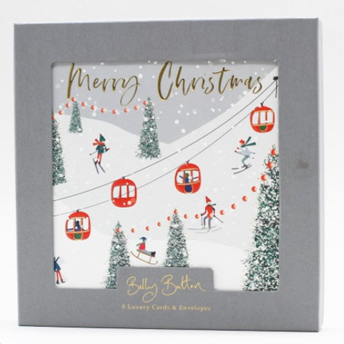 Cable Cards Christmas Cards Box of 8