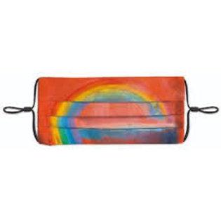 Face Mask Rainbow Painting