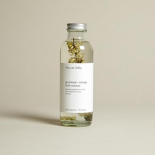 Plum And Ashby Orange And Geranium Bath Essence