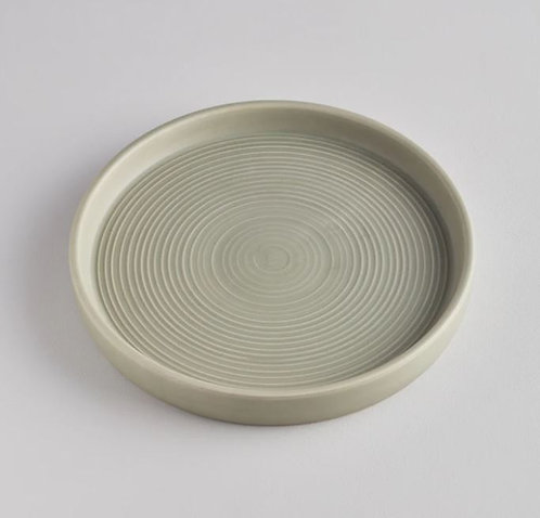 St Eval Large Sage Candle Plate