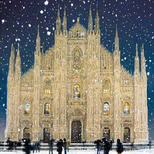 Milan Cathedral Christmas Cards Box of 6