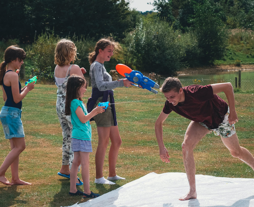 Launchpad Water fight